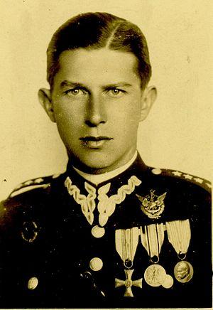 Antoni Janusz - Kapitan Antoni Janusz in the year 1934