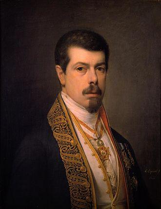 Antonio María Esquivel - Self-portrait (1847)
