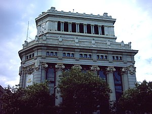 Antonio Palacios - The Río de La Plata Bank in Madrid