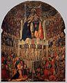 Antonio Vivarini Coronación de la Virgen 1444 San Pantaleone, Venecia.jpg