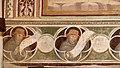 Antonio vite e collaboratore, arbor vitae, trasfigurazione e miracolo della madonna della neve, 1390-1400 ca., famiglia francescana 01.jpg