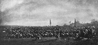 Andranik - Armenian volunteers under Andranik during the Balkan War