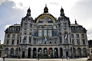 Antwerpen-Centraal railway station railway station in Belgium