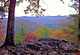 Vista with fall foliage