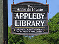 Appleby Library sign - by Elaine.jpg