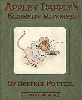 <i>Appley Dapplys Nursery Rhymes</i> childrens book written and illustrated by Beatrix Potter