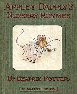 Appley Dapply's Nursery Rhymes - First edition cover
