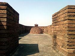 Apsidal Stupa at Bavikonda near Visakhapatnam.jpg