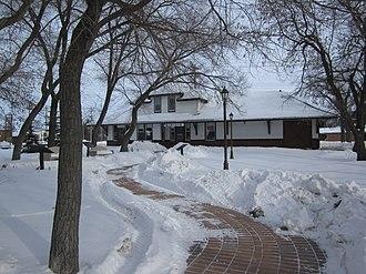 Arborg, Manitoba - Arborg CPR Station