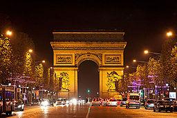 Arc de Triomphe de l'Étoile, 25 November 2011 01