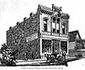 Architect's drawing of a building with sign for E Pimbury and Company, Victoria, British Columbia, between 1880 and 1890 (AL+CA 695).jpg
