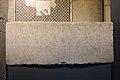 Architrave en pierre calcaire avec inscription commémorant la construction d'une salle de jeu de paume - Musée romain d'Avenches.jpg