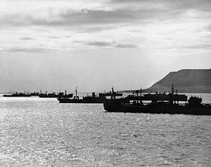 Convoy PQ 16 - Convoy PQ16 departing May 1942