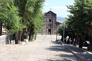 Ardara, Sardinia - Image: Ardara, santa maria del regno, ext, 00