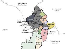 Location of Gran Asunción