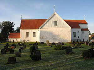 Tromøy Church - View of the church