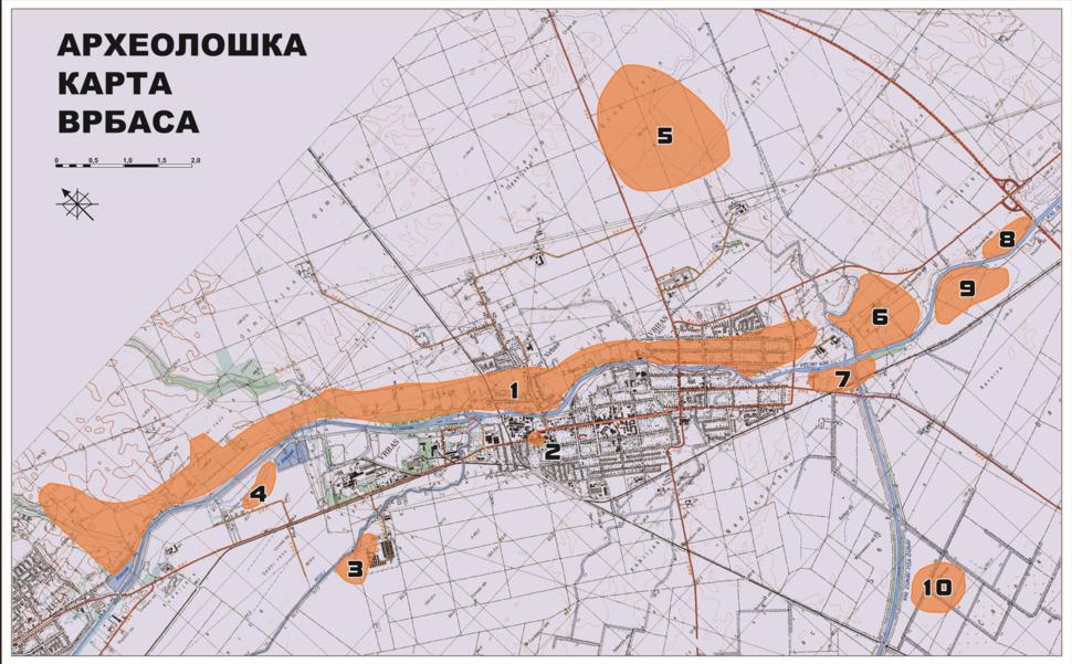 Arheološka mapa Vrbasa