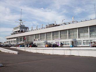 Port of Arkhangelsk - Image: Arkhangelsk sea river station