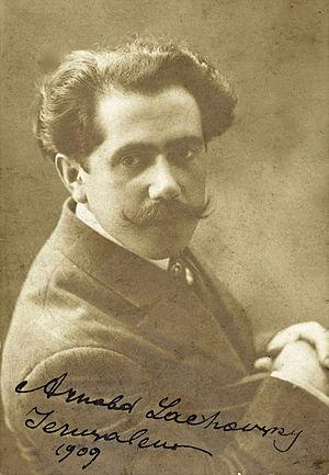 Arnold Lakhovsky - Arnold Lakhovsky, 1909