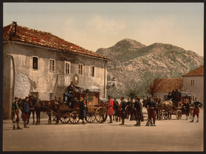 Arrival_of_the_Post,_Cetinje,_Montenegro_WDL2610