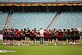 Arsenal players training before 2019 UEFA Europa League final 01.jpg