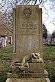 Art Deco gravestone - City of London Cemetery and Crematorium - Daisy and Leonard Samuel Rumsey.jpg