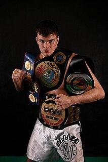 Artem Levin Russian kickboxer