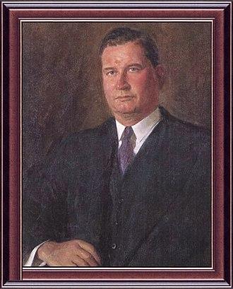 Arthur Fadden - Portrait of Arthur Fadden