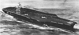 Nimitz-class aircraft carrier - An artist's impression of the USS Nimitz in 1968.