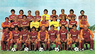 A.S. Roma - The Roma of the second Scudetto in 1983
