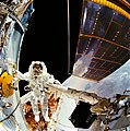 Astronaut Story Musgrave during First Hubble Servicing Spacewalk (28049536261).jpg