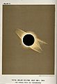 Astronomy; the corona of the sun, viewed during a total sola Wellcome V0024741.jpg