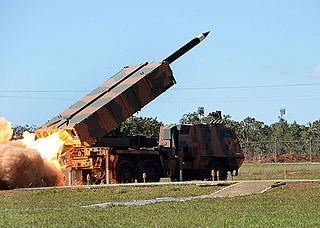 Astros II MLRS Rocket artillery