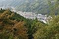 Asuke Castle - View of Central Asuke from Nagaya (Longhouse), Asuke-cho Toyota 2009.jpg