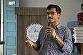Atanu Saha Lecturing - Bangla Wikipedia National Seminar and Workshop - Hijli College - West Midnapore 2015-09-28 4272.JPG