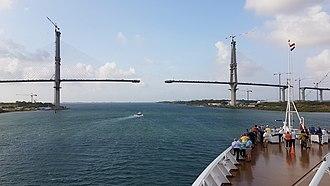 Atlantic Bridge, Panama - Image: Atlantic Bridge Panama 19 March 2018