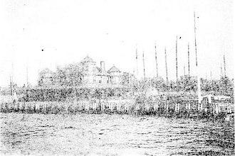 Atlantic Yacht Club - Atlantic Yacht Club House c 1894