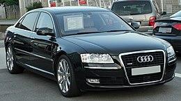 Audi A8 L 3.0 TDI quattro D3 II. Facelift front 20100710.jpg