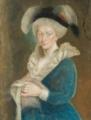 Auguste Caroline von Reuss zu Ebersdorf, pastel - Veste Coburg.png