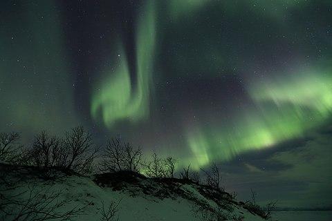 Aurora in Abisko near Torneträsk.jpg