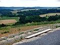 """Ausblick Richtung Westen - Natur- und Erholungsgebiet """"Berg"""" - Kulturlandschaft und Naturschutz, Das Gebiet """"Berg"""" zeigt uns heute einen Ausschnitt aus der alten Kulturlandschaft, wie sie früher im Heckengäu weit verbr - panoramio.jpg"""