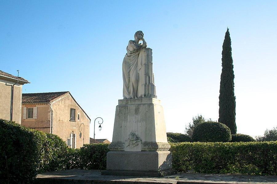 Autignac (Hérault) - monument aux morts.