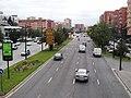 Avinguda del Cid. Segona passarel·la. Cap a l'est 1.JPG