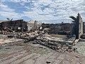 Bâtiment du Let Fitness (Beynost, France) en mai 2019 après incendie - 00015.jpg