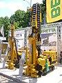 BERETTA T26 drilling rig at Construct Expo Utilaje 2010.JPG