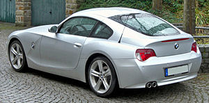 BMW Z4 (E85) - Z4 Coupé rear