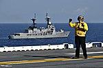 BRP Ramon Alcaraz as seen from the USS Wasp at Balikatan 2019.jpg