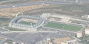 Başakşehir Fatih Terim Stadium - Stadium from air