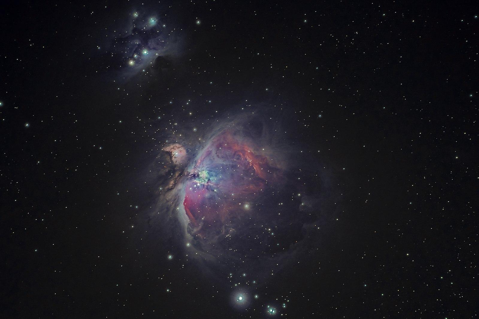 Skvelú fotku hmloviny Orión dokáže spraviť aj amatérsky fotograf.