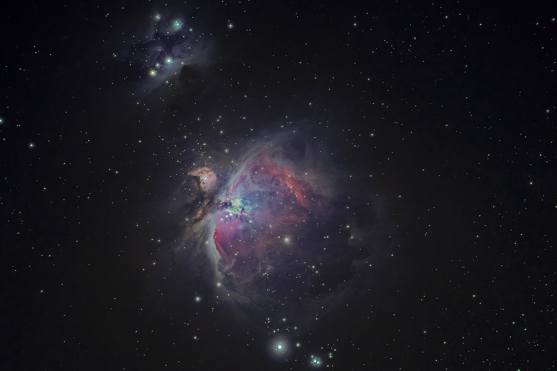 Amateur image of the Orion Nebula taken with a Sony Alpha a6300 camera, by Bryan Goff.